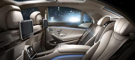 Mercedes S Class Interiror